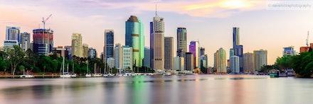 Brisbane (shot from Kangaroo Point)