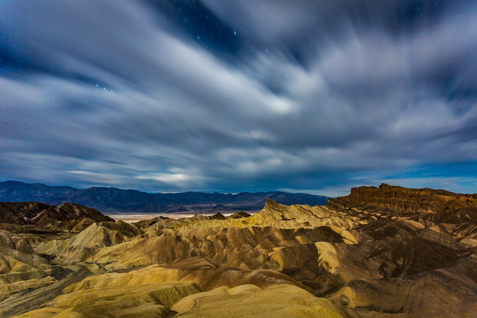 Zabriskie Point, Moonlit Clouds