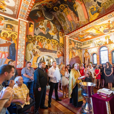 Milana Djaveroski Christening, St Sava Serbian Orthodox Church & Osborne Park Function Centre, 7 April 2013 - Stefani & the Djaveroski Family invited us...