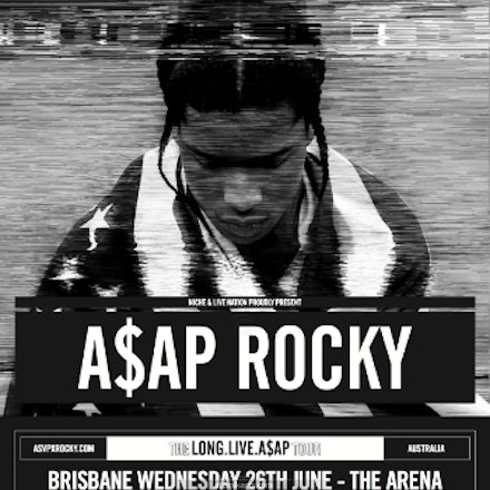 A$AP Rocky, Metro City, 27 June 2013 - A blurry mix of lyricism, slowed down rave synths and featuring a star studded line-up of guests including Florence...