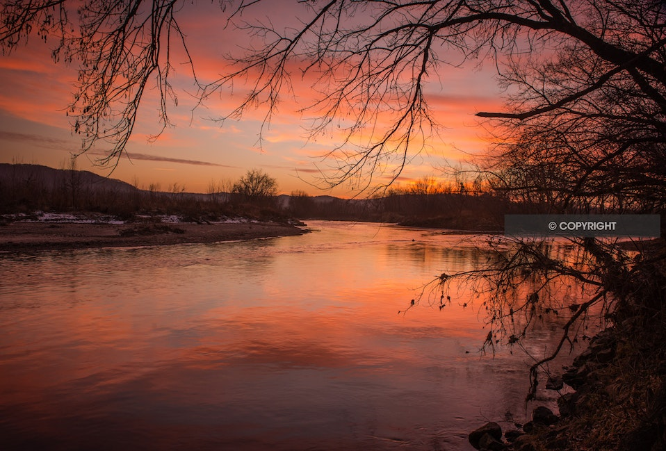Root River Sunset- Rushford, MN