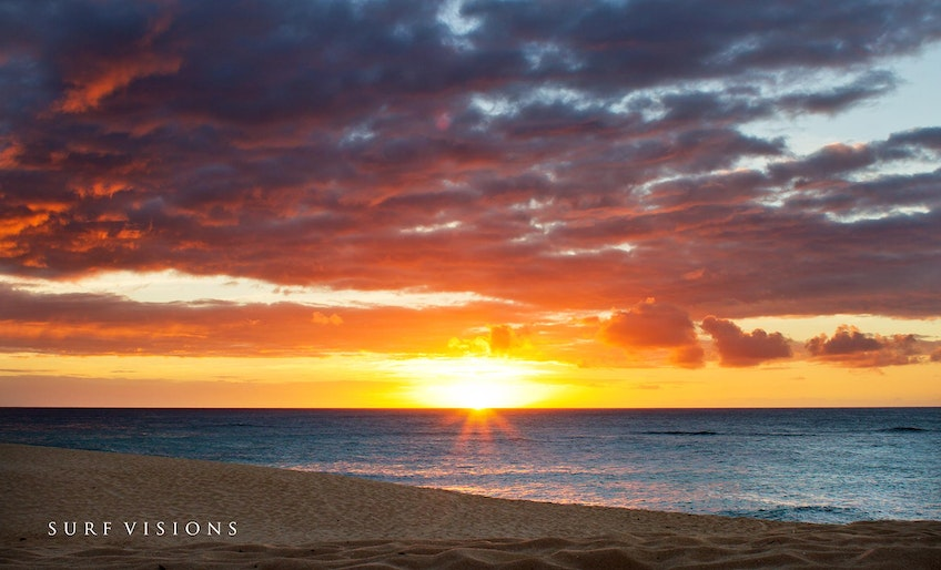 Perfect Sunset - Sunset Beach , Oahu - Hawaii