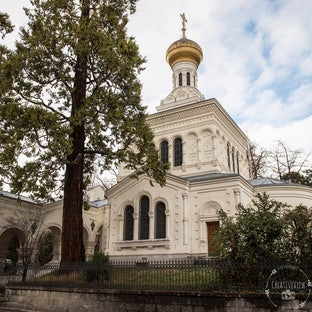 Mariage église russe Sainte-Barbara