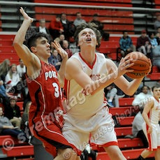 Portage vs. Crown Point - 2/4/16 - Crown Point defeated Portage 56-29 on Thursday evening (2/4) in Crown Point.  Sasha Stefanovic scored 16 points and...