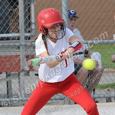 Lake Central vs. Crown Point - 4/18/16 - Crown Point defeated Lake Central 5-3 on Monday evening (4/18) in Crown Point.  Alexis Holloway worked into the...