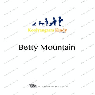 Koolyangarra Kindy - Betty Mountain