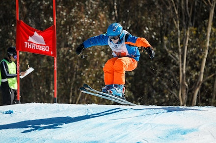 140829_sx_8386 - NSW State Championships-  skier cross race at Thredbo, NSW (Australia) on August 29 2014. Jan Vokaty