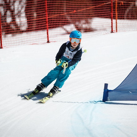 140912_div5_9598 - National Interschools Ski Cross Division 5 at Perisher, NSW (Australia) on September 12 2014. Jan Vokaty