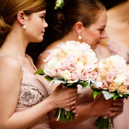 013 | Bridesmaids looking on during the ceremony - Copyright © 2015 Melissa Fiene Photography. All rights reserved. All images created by Melissa Fiene...