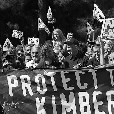 John Butler Save The Kimberley March
