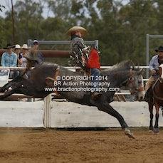 Moranbah Rodeo CQCA 2014 - Novice & Slack Program