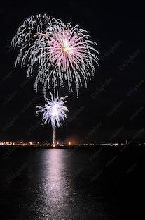 2012 Australia Day  Fireworks Fremantle