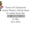 Town of Claremont Santa Shoot - Photos by Chris Brown