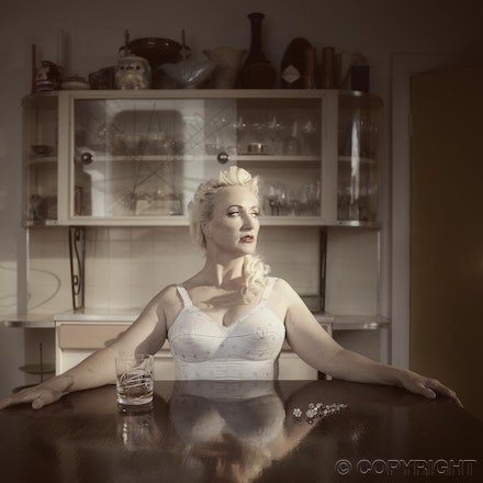 reflections - vintage - 50's image