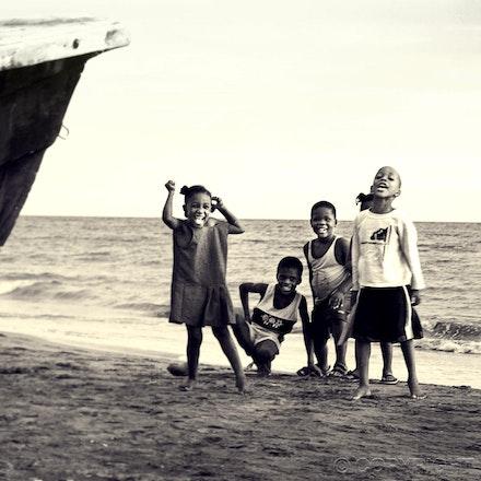 Kids of the Fisherman - Aligator Pond Beach, Jamaica