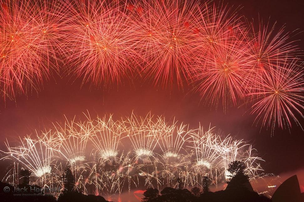 Fireworks, New Year's eve 2012 - Fireworks, New Year's eve 2012, Sydney