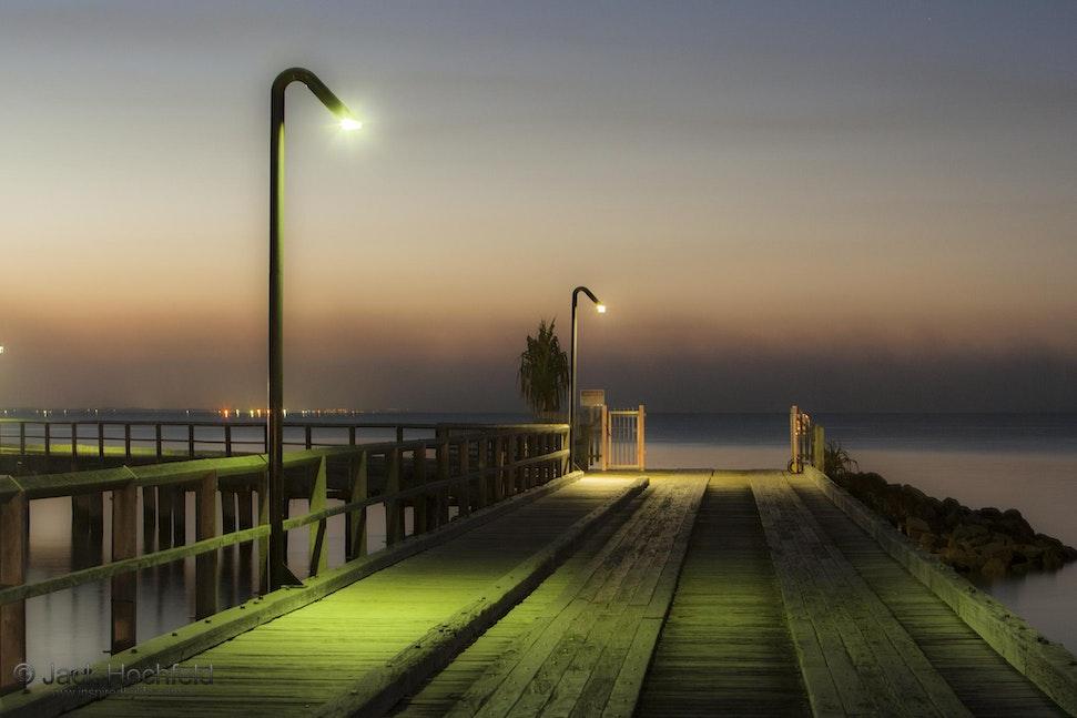Pier at Kingfisher Bay, Fraser Island - Pier at Kingfisher Bay, Fraser Island, Queensland
