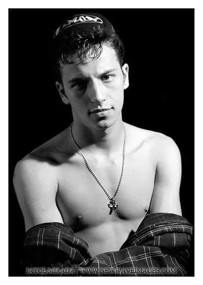 JC10194 - Signed Male Fashion Photo Art by Jayce Mirada