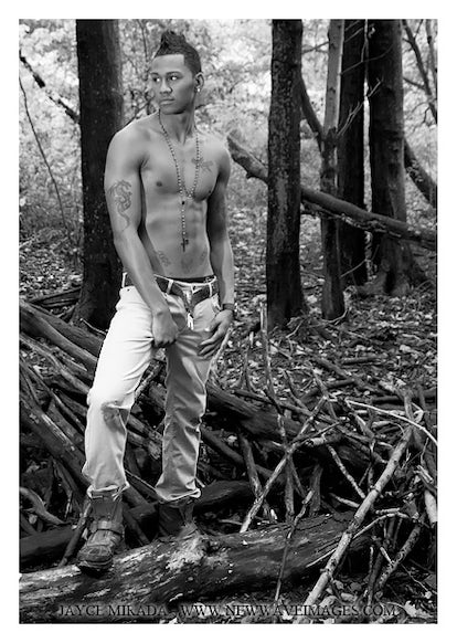 AO114910 - Signed Male Fashion Photo Art by Jayce Mirada