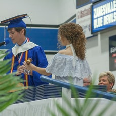 2017 ZHS Graduation Ceremony - Photos of the 2017 Graduation Commencement candid photos taken on 05-20-17 by Leonard Hill Photography, Ltd.