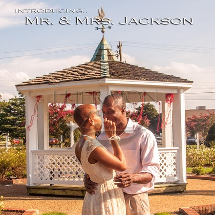Mr. & Mrs. Jackson - Location Wedding Photos