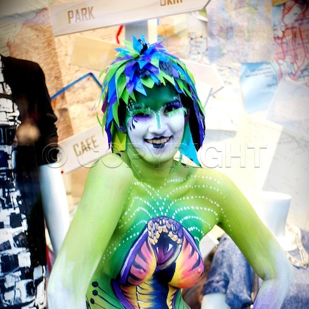 Australasian Body Painting Championship - Body painting Championship took place in October 2010 in Double Bay, Sydney, Australia