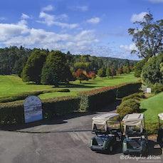 Blackheath Golf Course Autumn - Photos of the famous Blue Mountains Course taken in Autumn