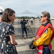 Coulson C-130 Tour - The NSW Premier Gladys Berejiklian, along with Emergency Services Minister Troy Grant, NSW Treasurer Dominic Perrottet MP, Fire and...