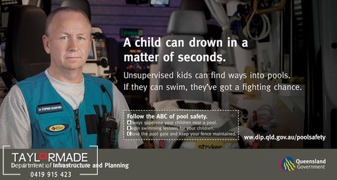 Pool Safety billboard 2