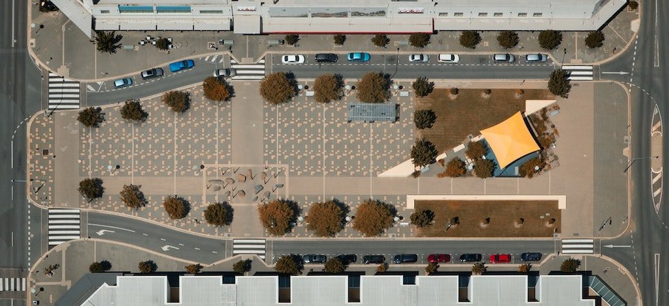 G Comfort Landscape 01 low res - Aerial Photo, Gungahlin Town Centre, ACT, 8th February, 2015