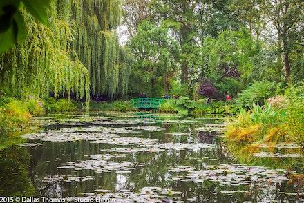 The Bridge - The famours Monet's Garden bridge taken late afternoon.