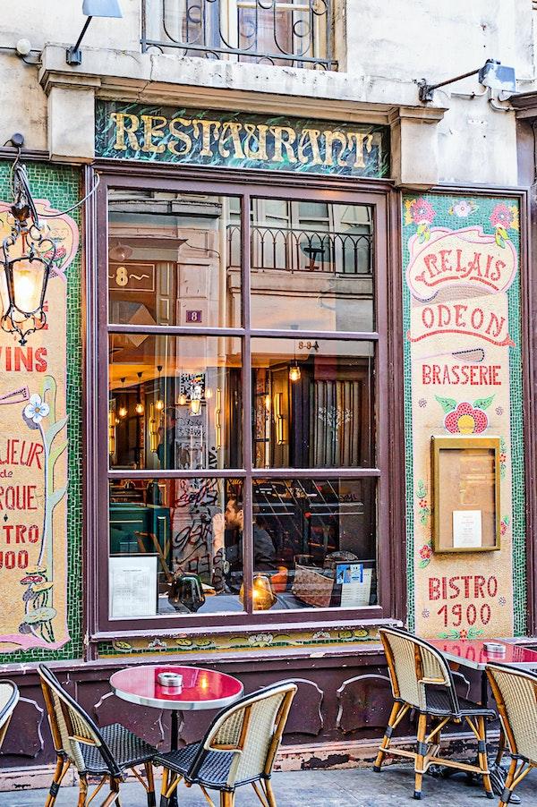 158 - Paris - 6th - 09-10-16-0900-Edit - Restaurant window