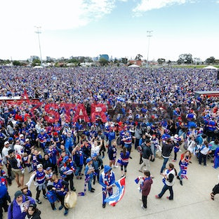 Western Bulldogs family day - Photos by Luke Hemer