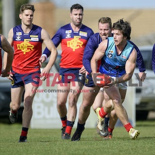 RDFL, Diggers Rest vs Romsey. - RDFL, Diggers Rest vs Romsey. Pictures Shawn Smits