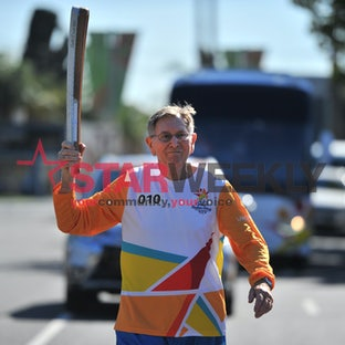 Queen's Baton Relay February 13 - Queen's Baton Relay February 13. Pictures Damjan Janevski
