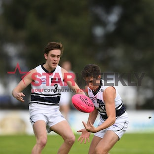 TAC Cup, Calder Cannons vs Northern Knights - TAC Cup, Calder Cannons vs Northern Knights. Pictures Damian Visentini