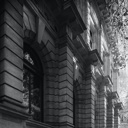 Morning Light, Collins Street Melbourne - Soft morning light on Collins Street, Melbourne