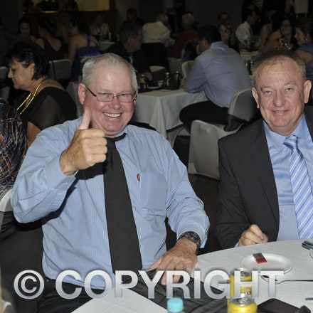 151120_SR27458 - Rob Cutting and Mark Kinsey at the Longreach State High School formal, Friday November 20, 2015.  sr/Photo by Sam Rutherford