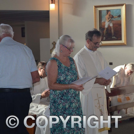 160322_DSC_5571 - Wendy Tabrett, warden of St Andrews Longreach with Susan and Graeme Liersch and Kevin Kerr, warden of Barcaldine Anglican Church.