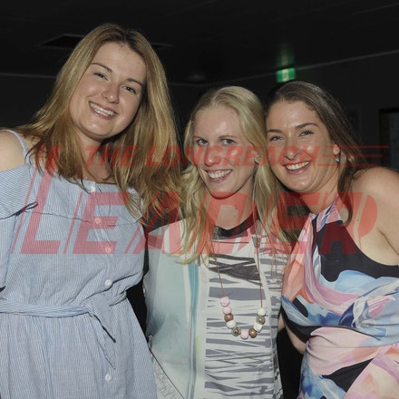 170204_SR27001 - Claire Jackson, Sarah Cavanagh amd Meg Bass at the Longreach RSL Meet and Greet, Saturday February 4, 2016.   sr/Photo by Sam Rutherford
