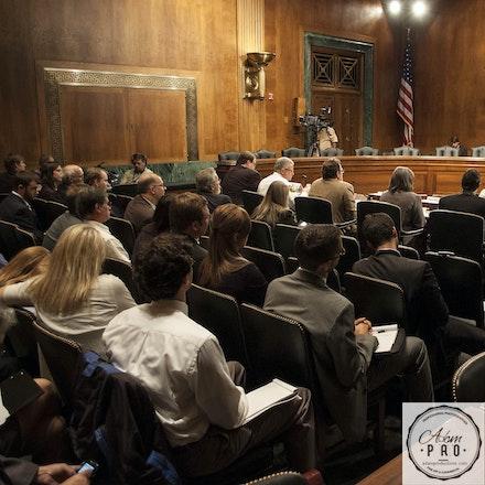 U.S. Senate Sub-Committee - Washington D.C., USA, Sept 29, 2010: Sen. Cordin presides over a Senate Sub Committee meeting.