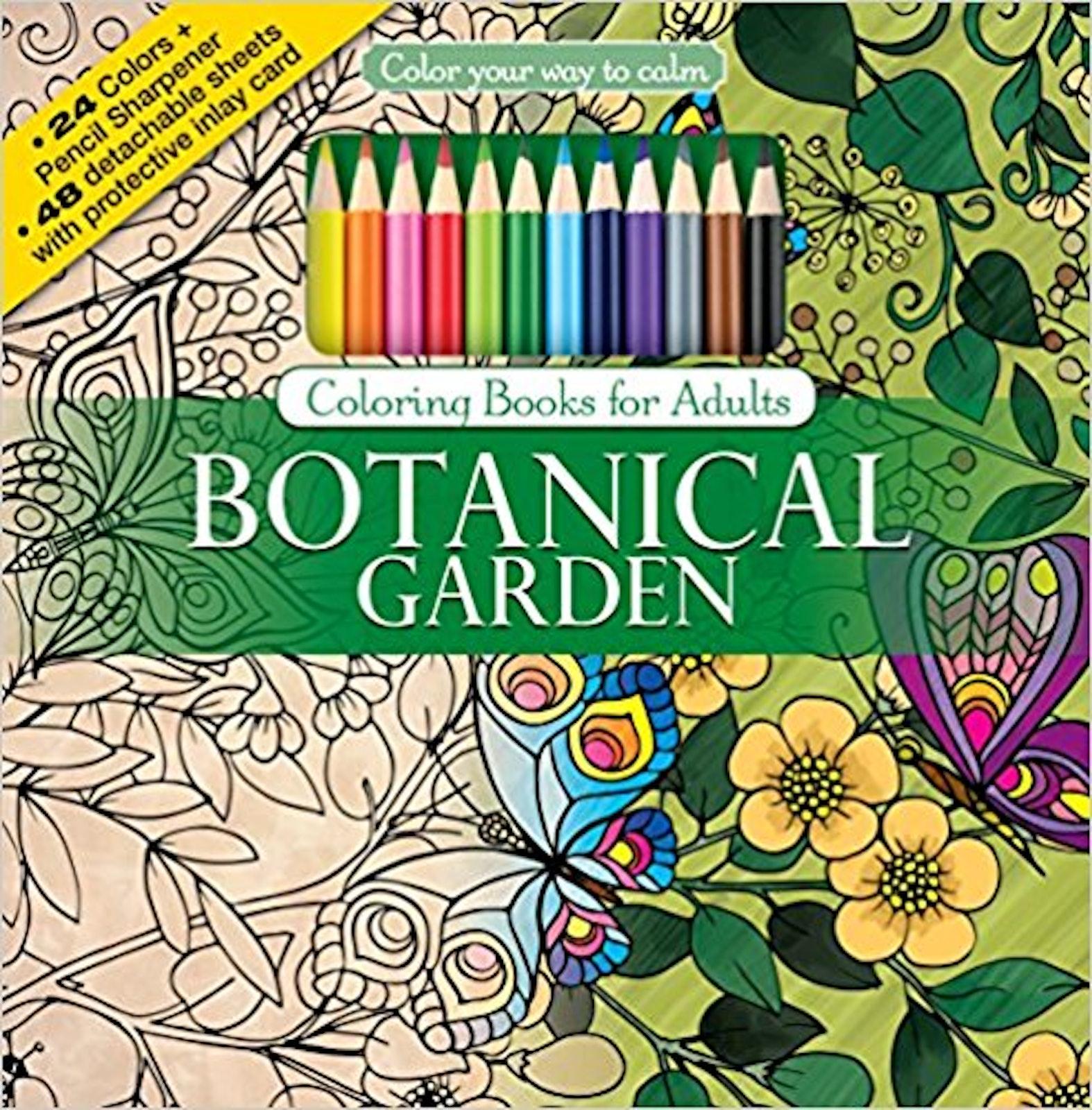 gardencolouringbook